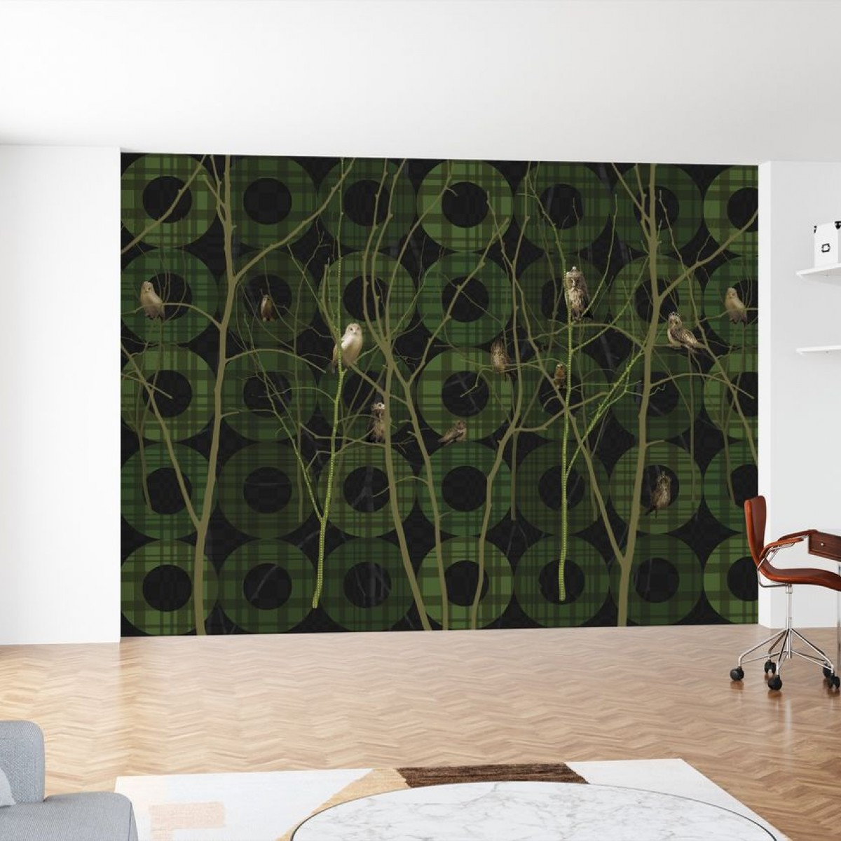 Fototapet Noble green, personalizat, Photowall