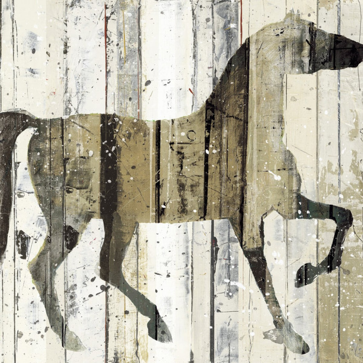 Fototapet Dark Horse, personalizat, Photowall