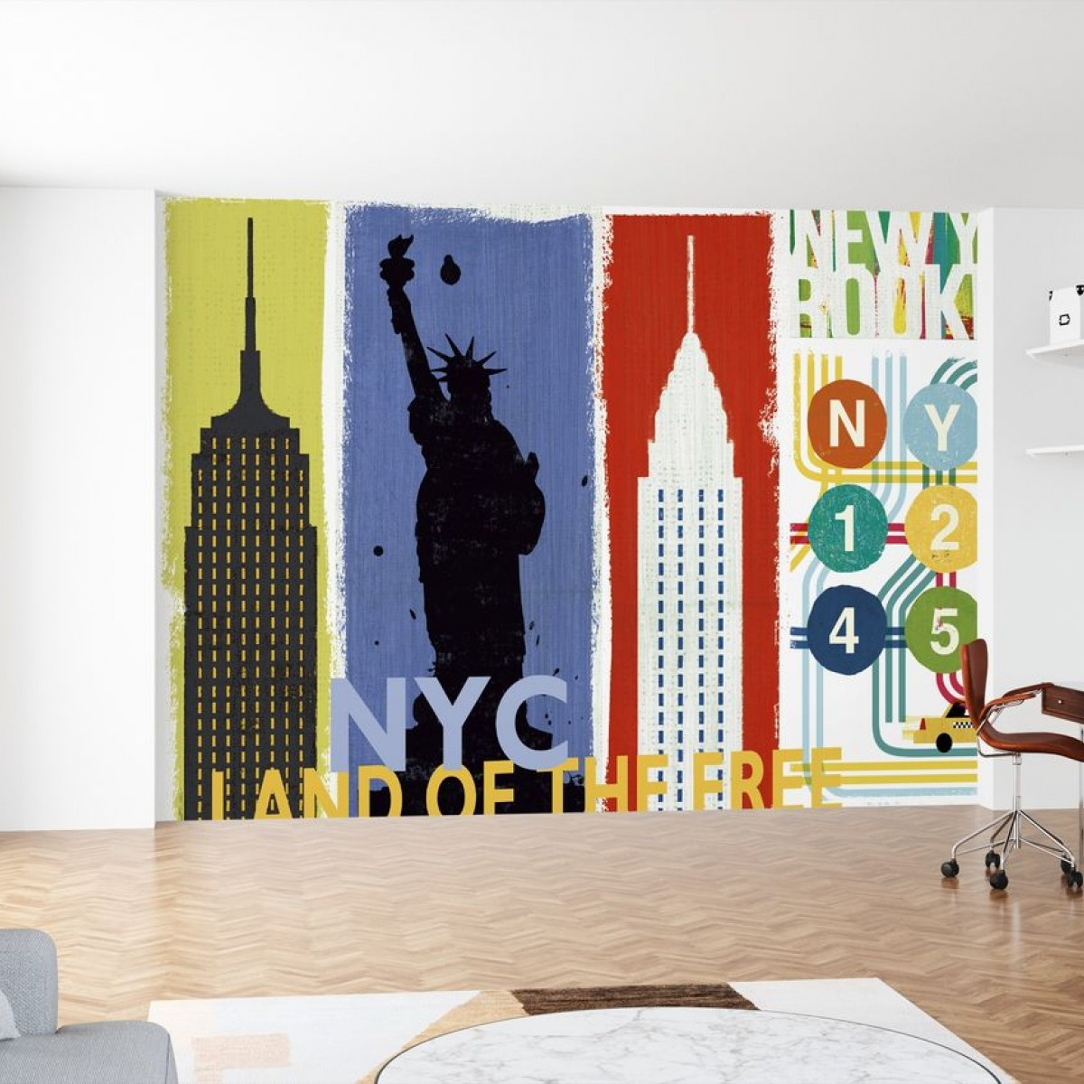 Fototapet New York City Life II, personalizat, Photowall