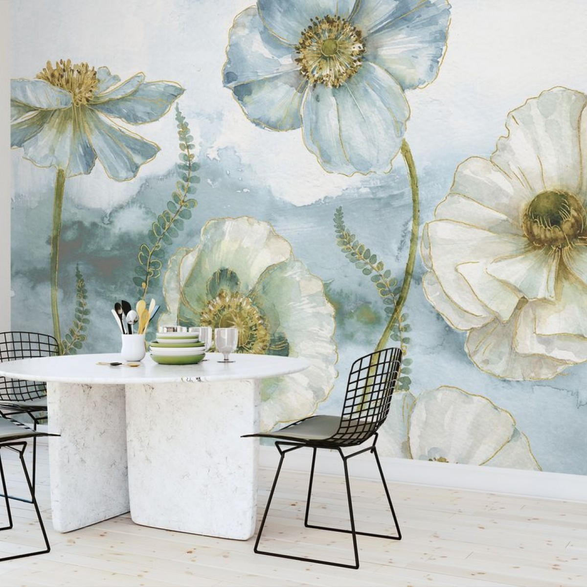 Fototapet My Greenhouse Flowers, personalizat, Photowall