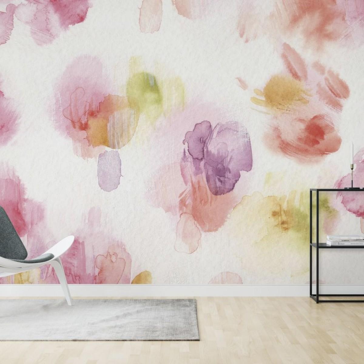 Fototapet Watercolor Petals, personalizat, Photowall