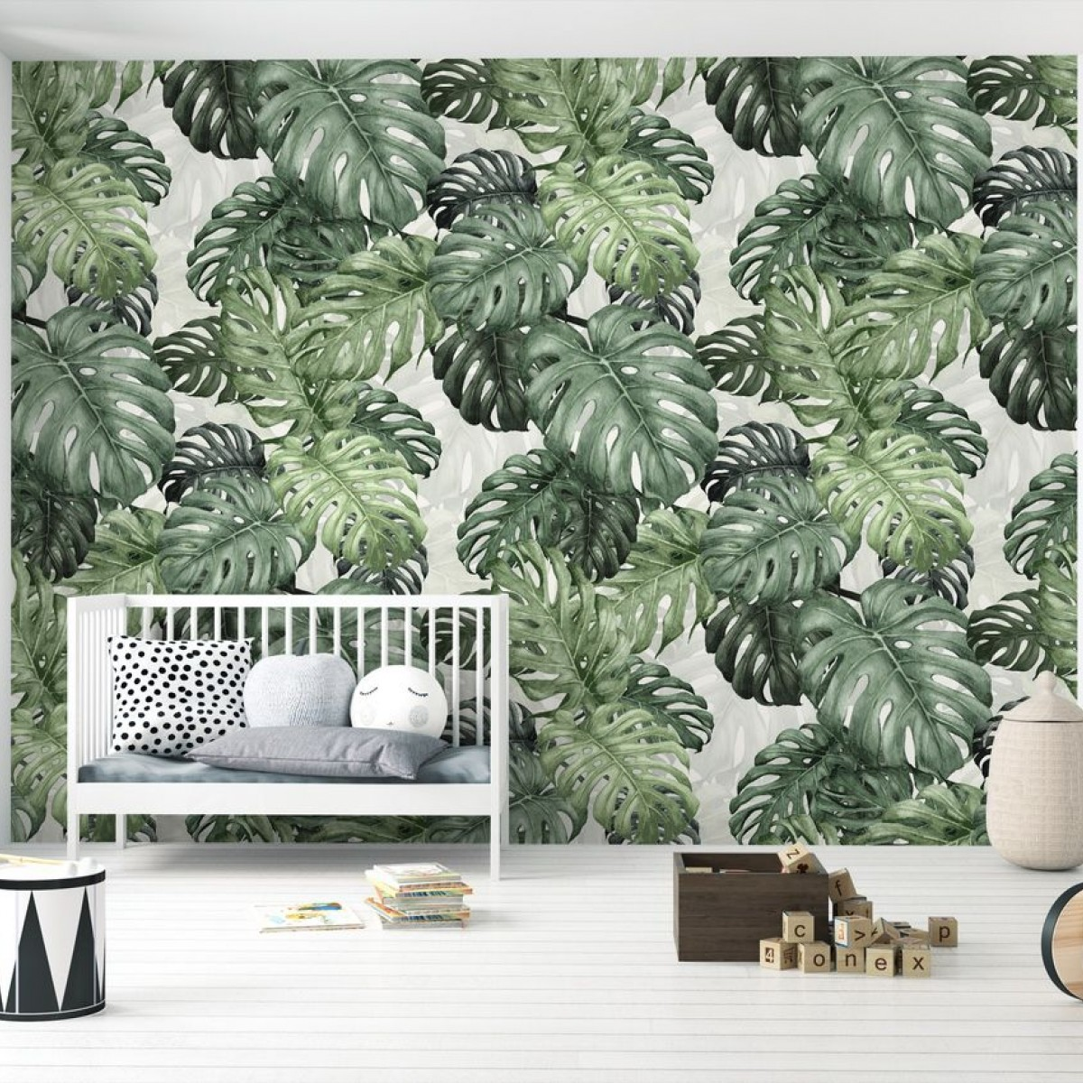 Fototapet Botany Monstera, personalizat, Photowall