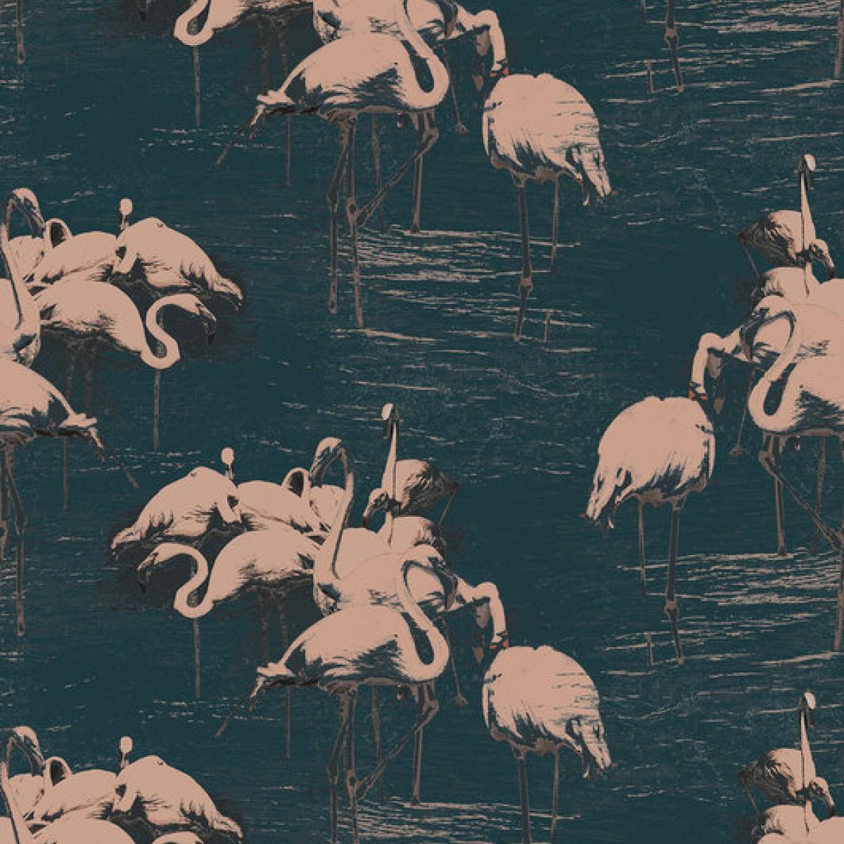 Fototapet Flamingo Pink, personalizat, Photowall