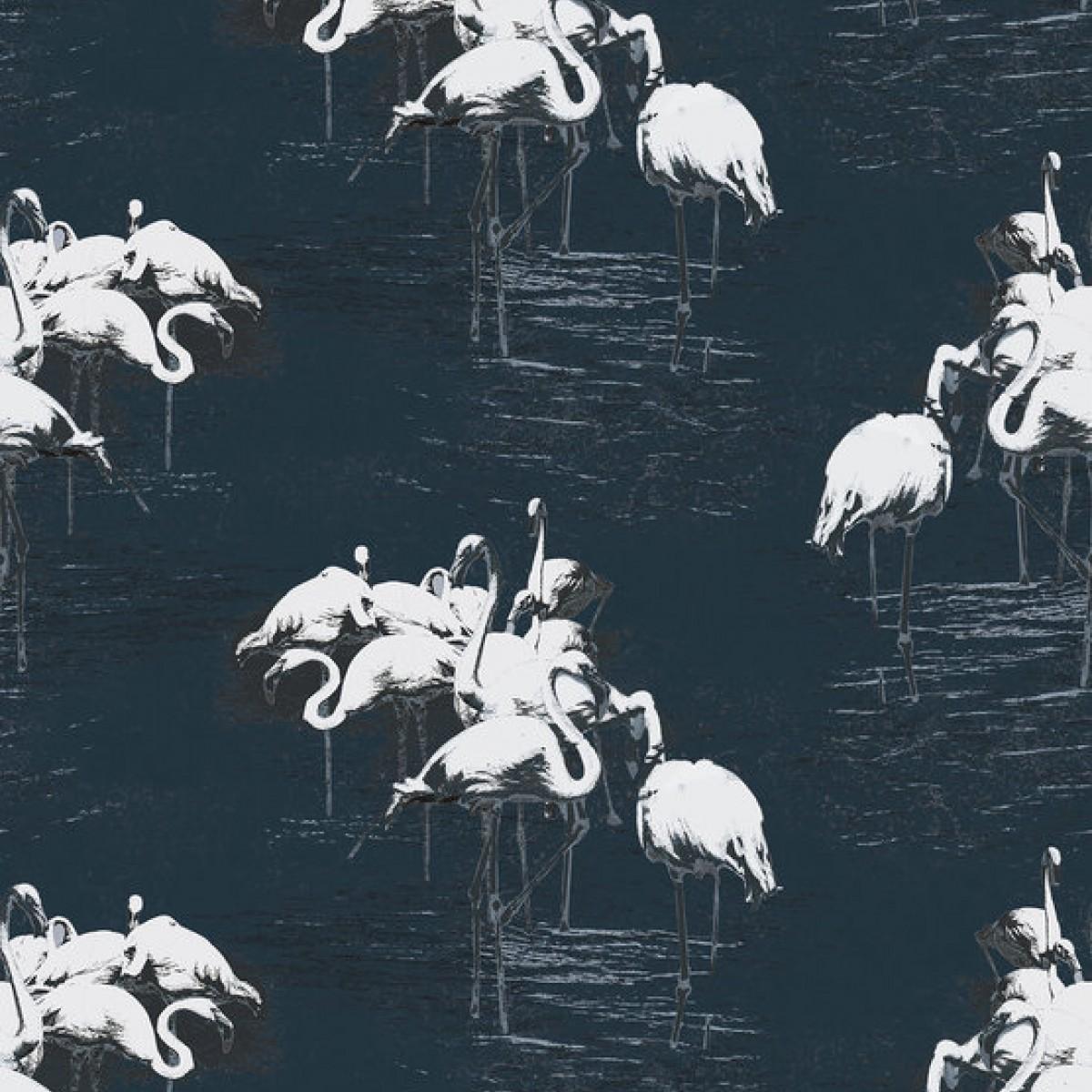 Fototapet Flamingo White, personalizat, Photowall