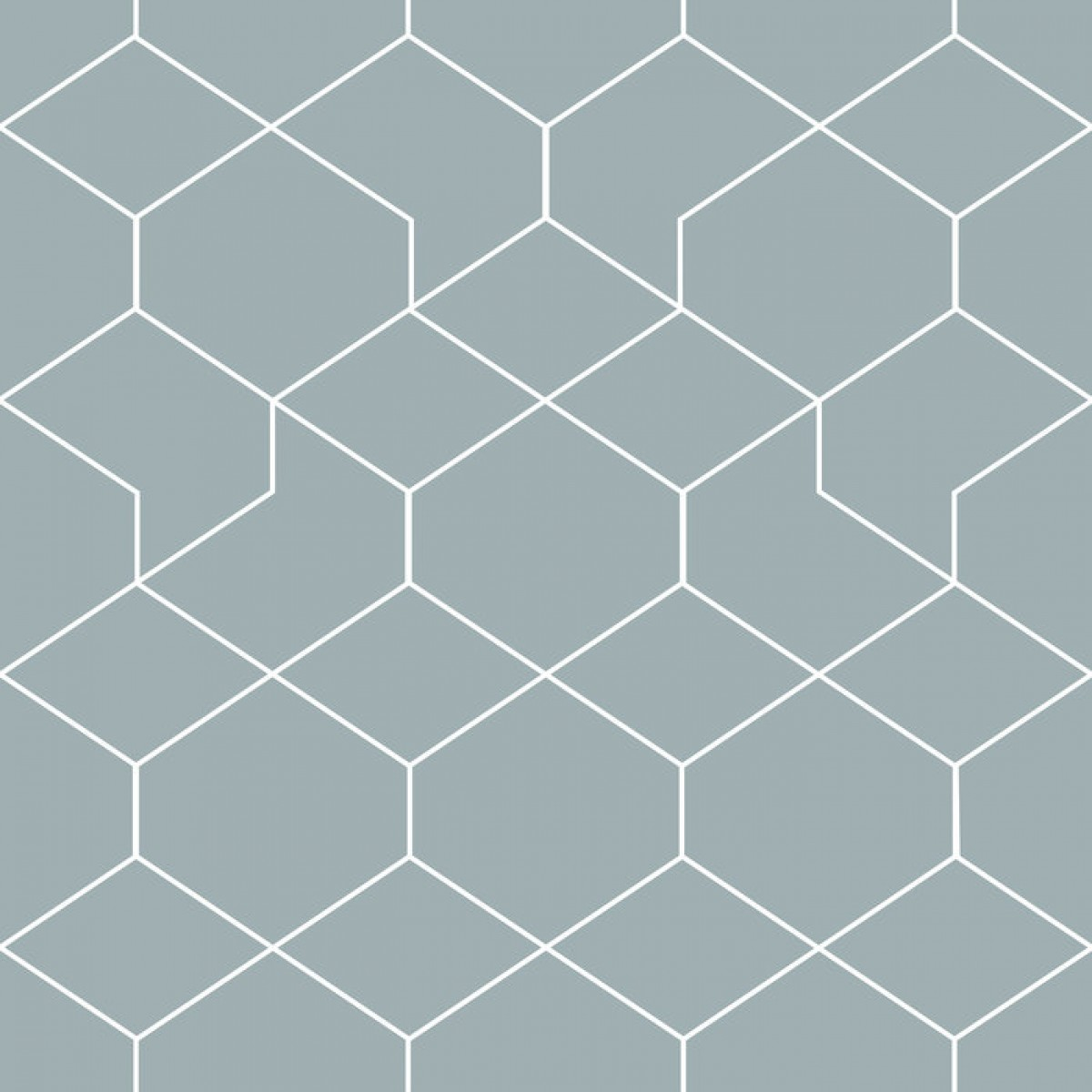 Fototapet Honeycomb Blue, personalizat, Photowall