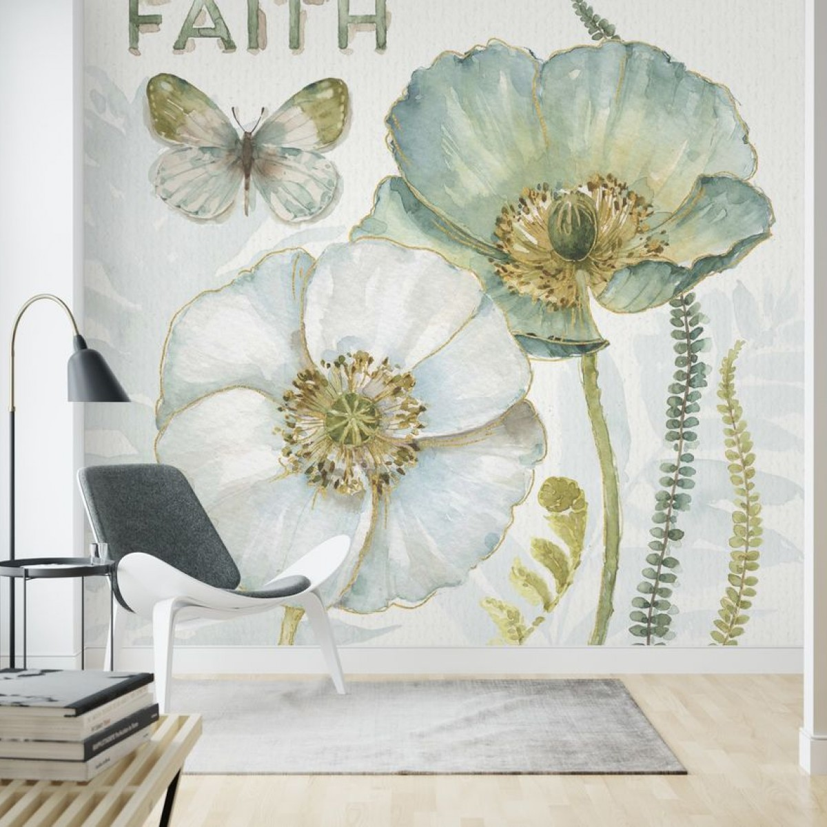 Fototapet My Greenhouse Flowers, Faith, personalizat, Photowall