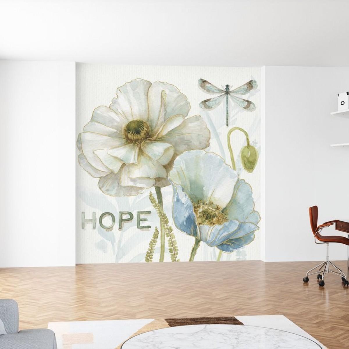 Fototapet My Greenhouse Flowers, Hope, personalizat, Photowall