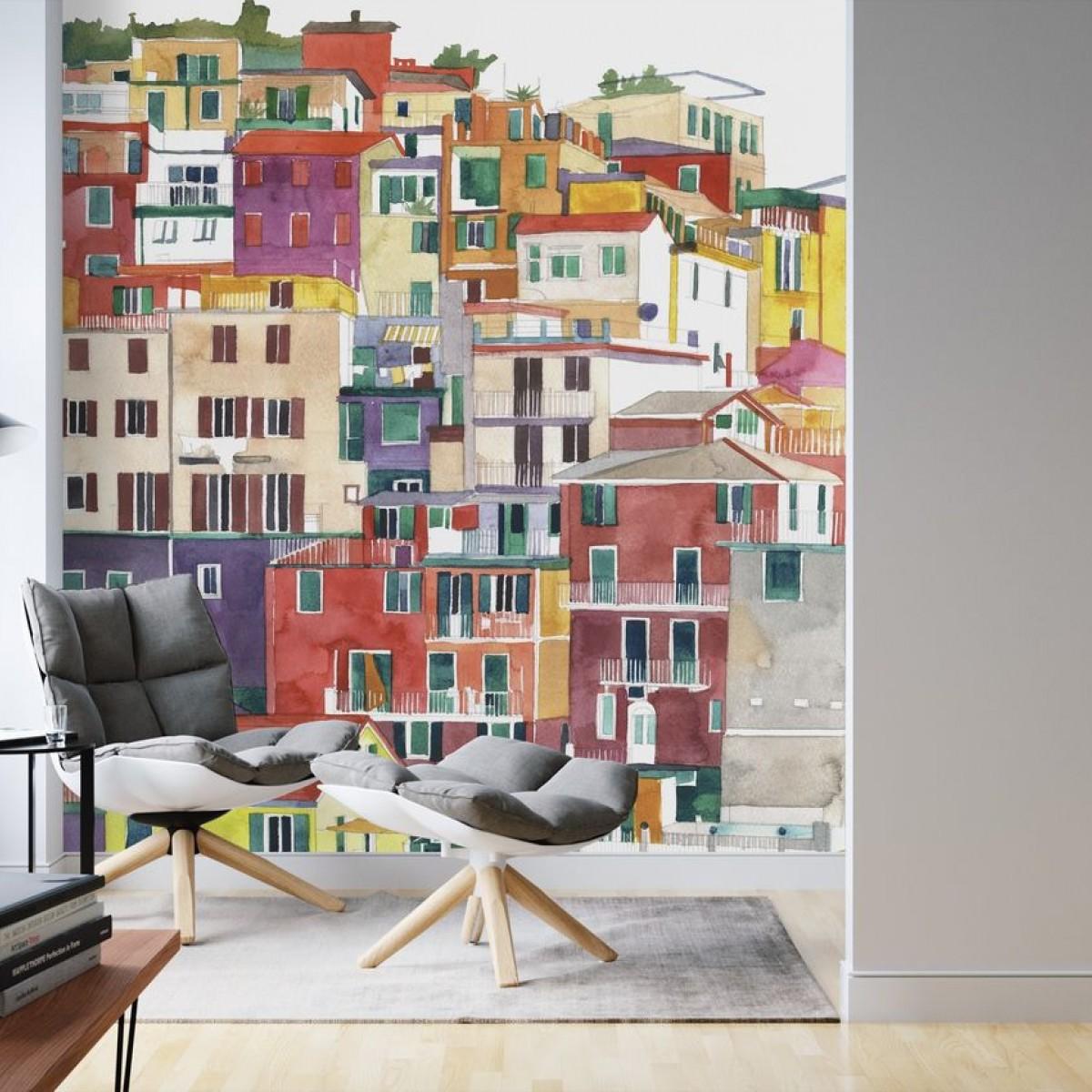 Fototapet Cinque Terre, personalizat, Photowall