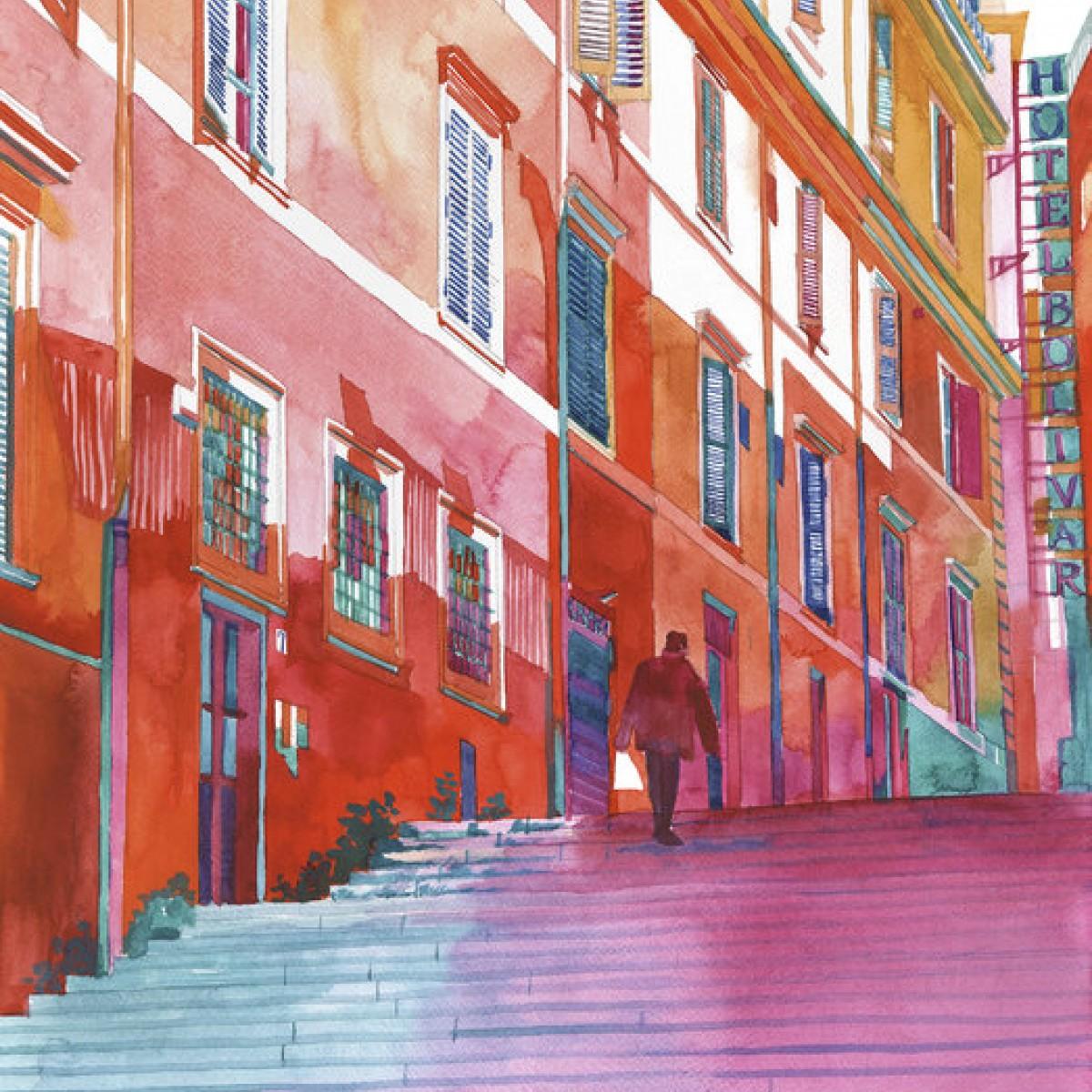 Fototapet Hotel in Rome, personalizat, Photowall