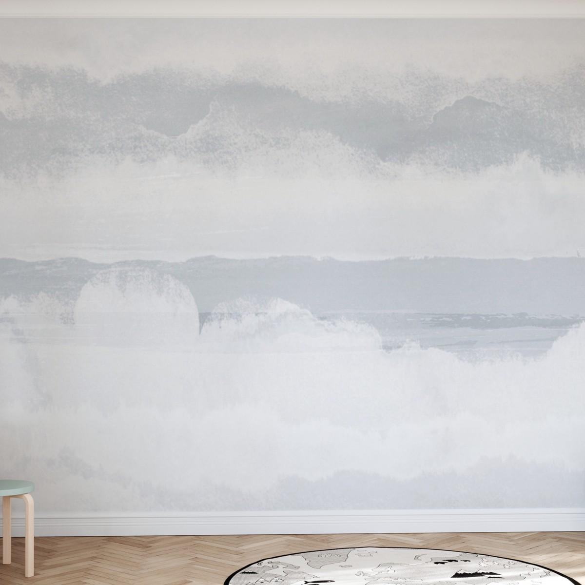 Fototapet Clouds, Albastru, Personalizat, Photowall