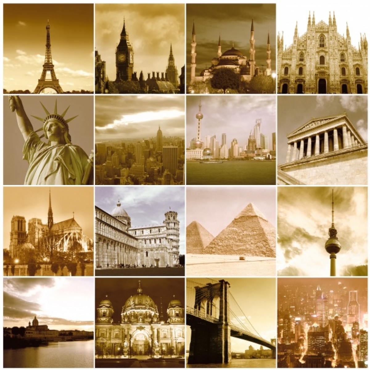Fototapet Atractii turistice, personalizat, Rebel Walls
