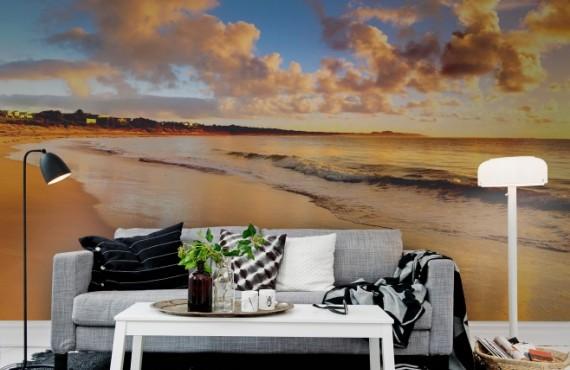 Foto tapet 3D Plajă, personalizat, Rebel Walls