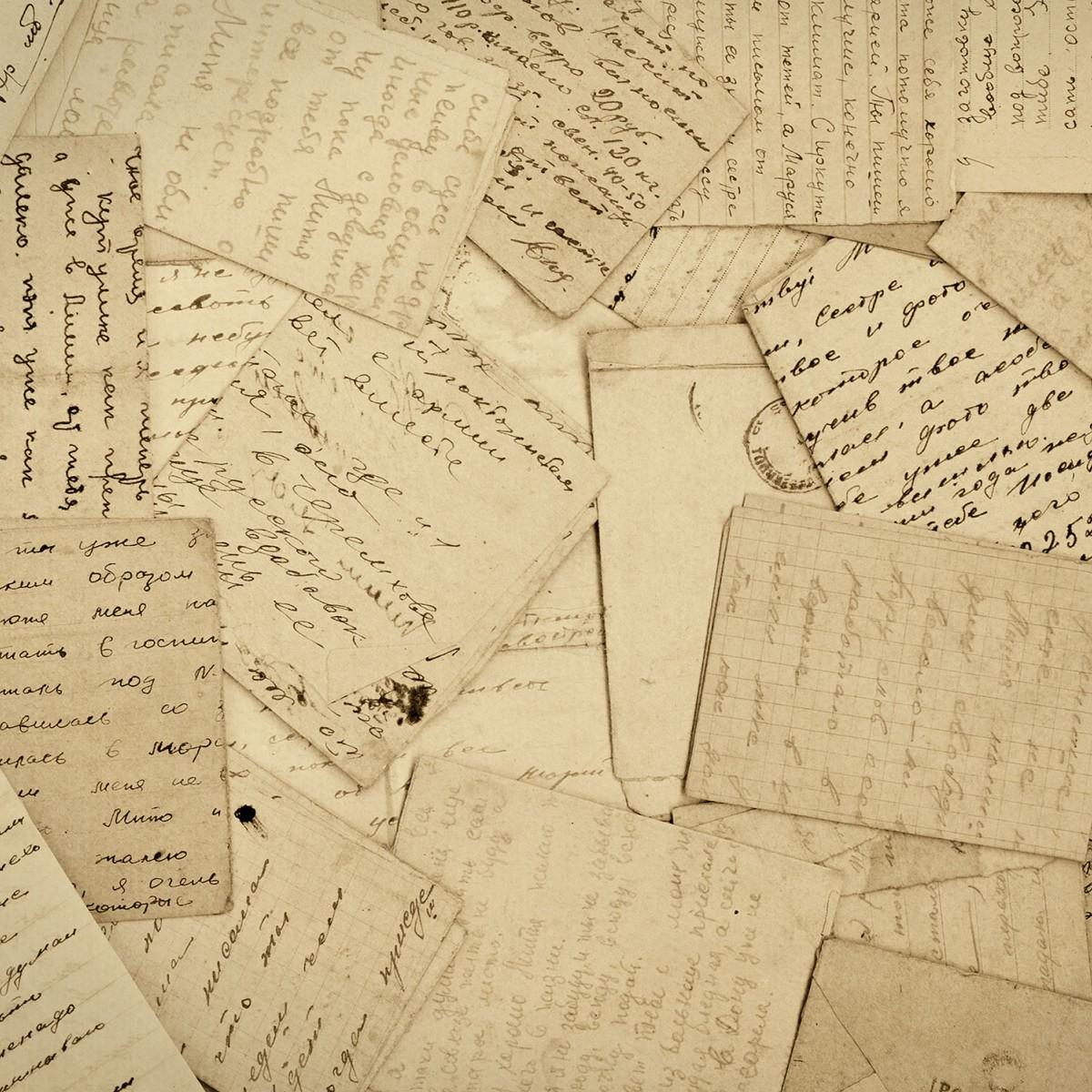Fototapet Correspondence , personalizat, Rebel Walls