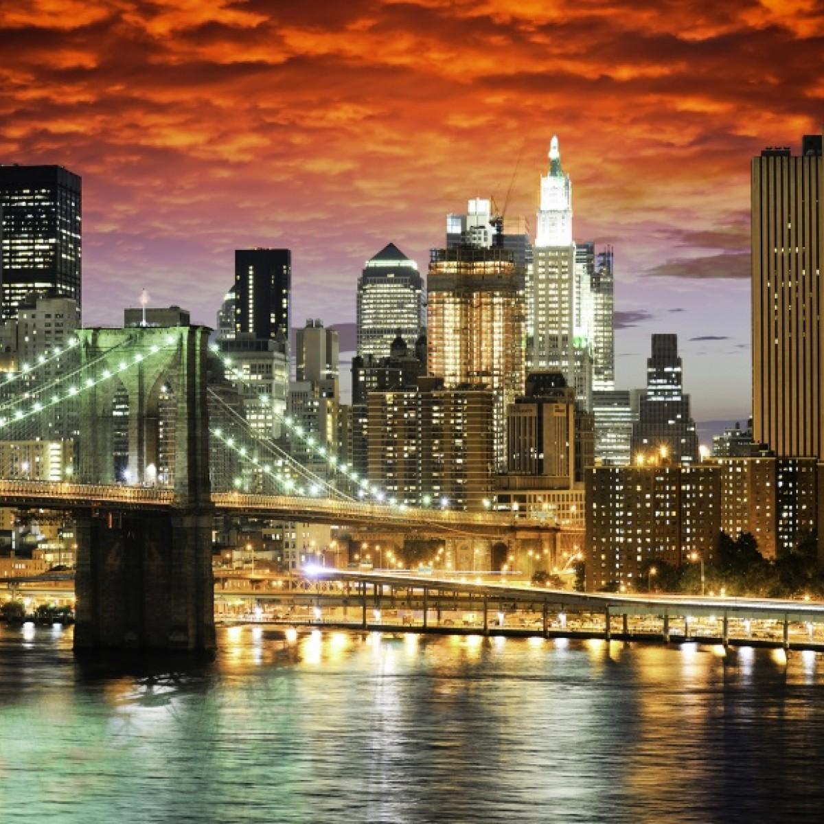 Fototapet Brooklyn Bridge, personalizat, Rebel Walls