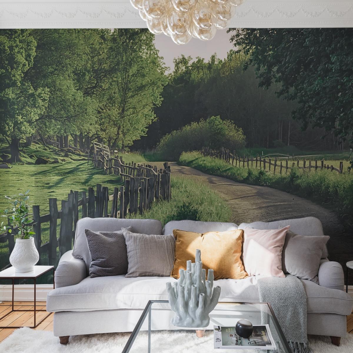 Fototapet Wooden Fence, personalizat, Rebel Walls