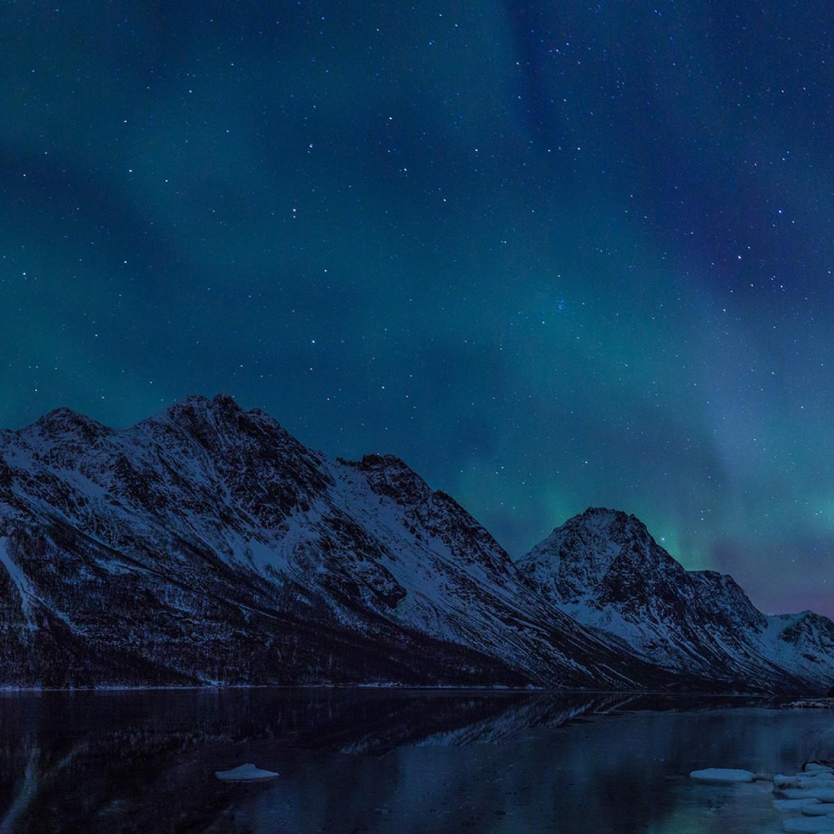 Fototapet Northern Lights, personalizat, Rebel Walls
