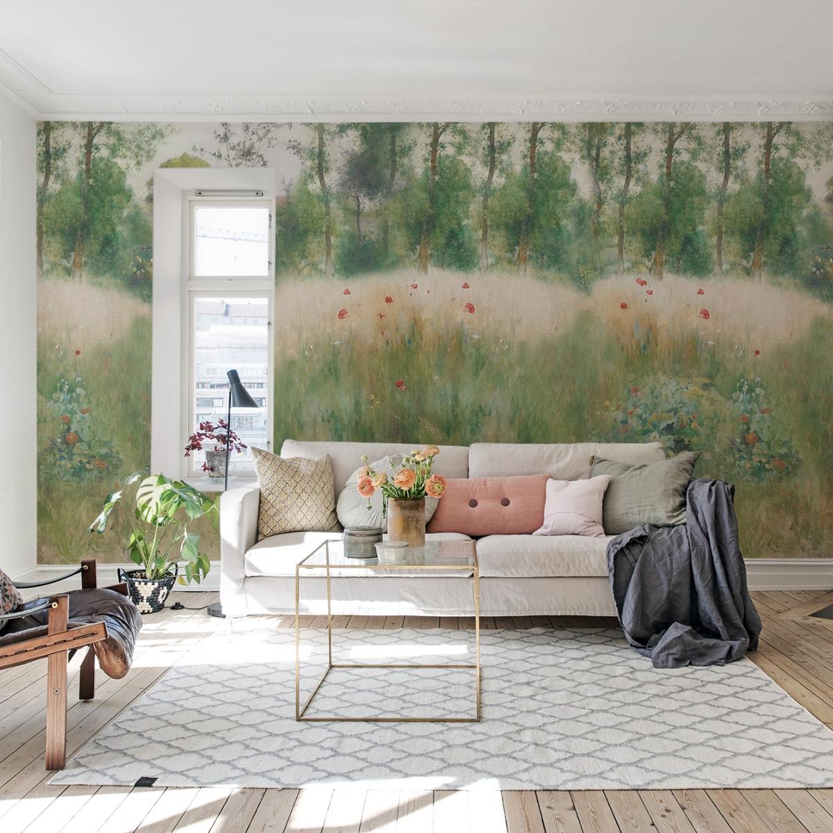 Fototapet Midsommar, personalizat, Rebel Walls