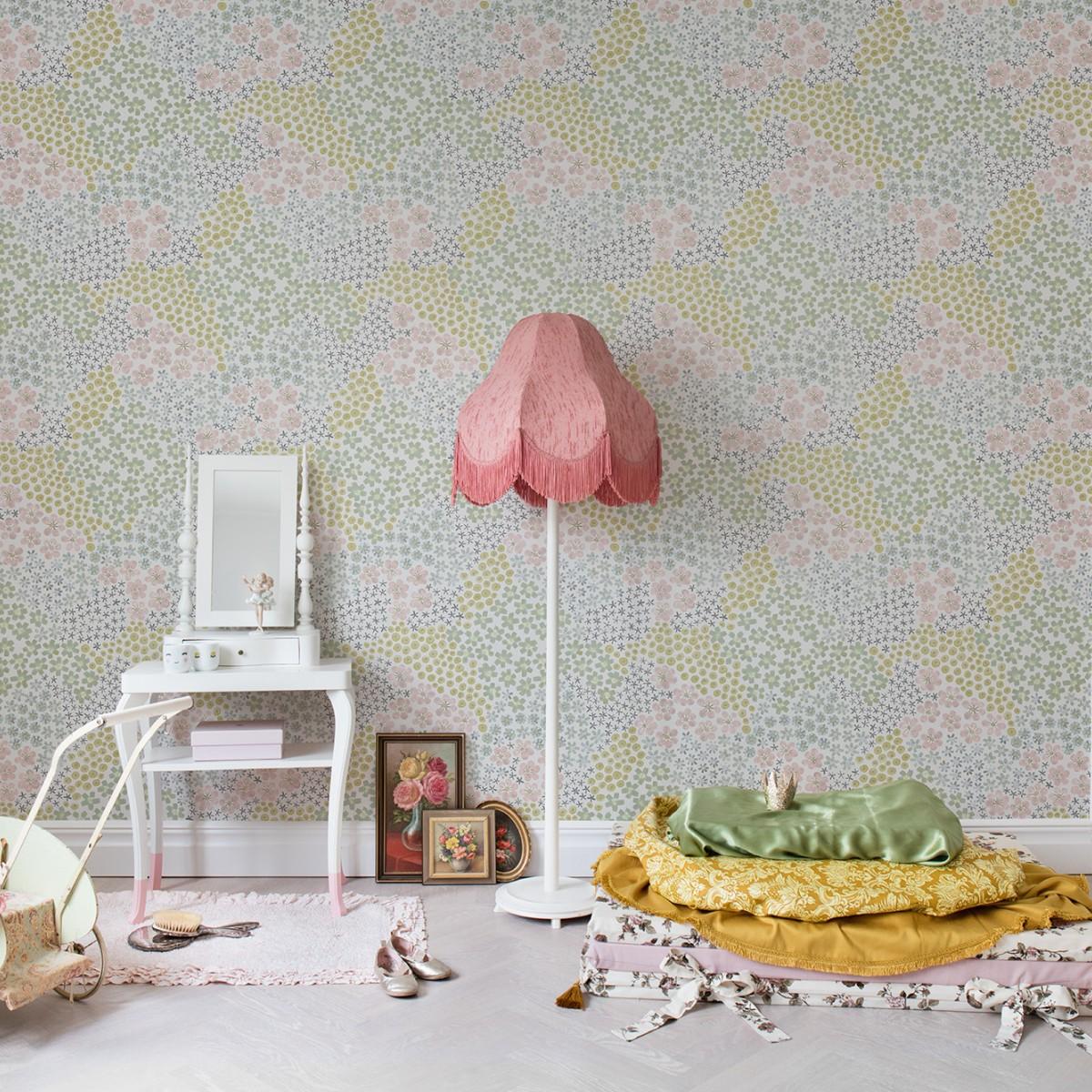Fototapet Perennials, personalizat, Rebel Walls
