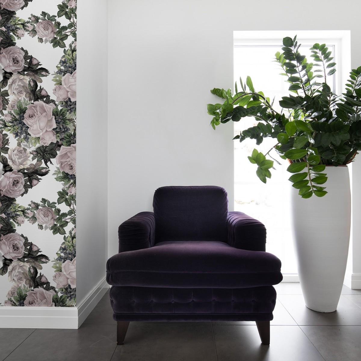 Foto tapet Floral Frida, Vintage, personalizat, Rebel Walls