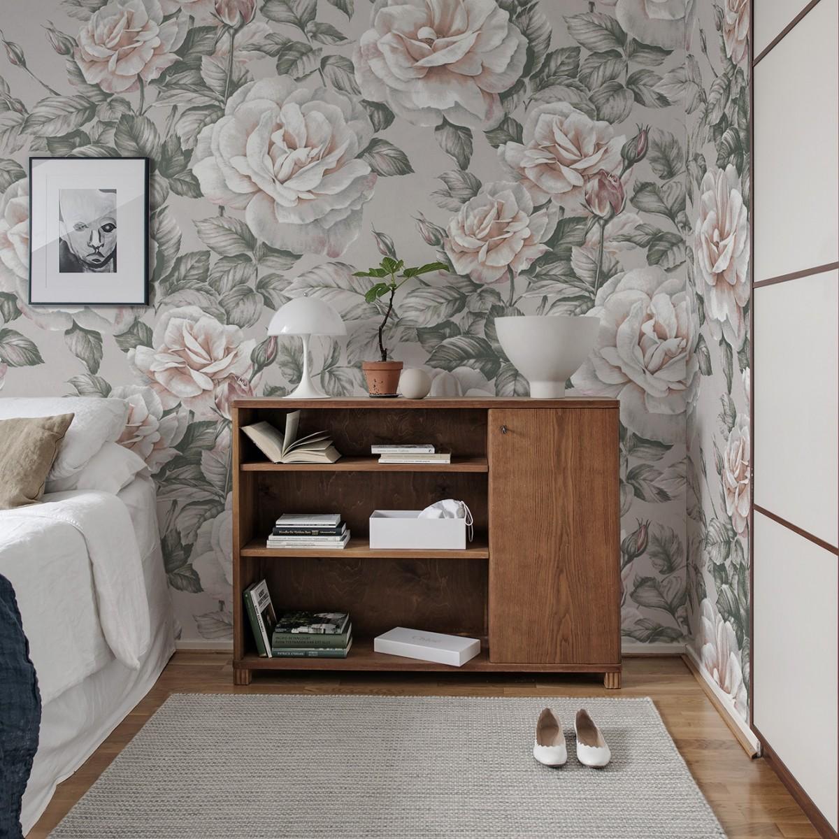 Foto tapet Nude Roses, personalizat, Rebel Walls