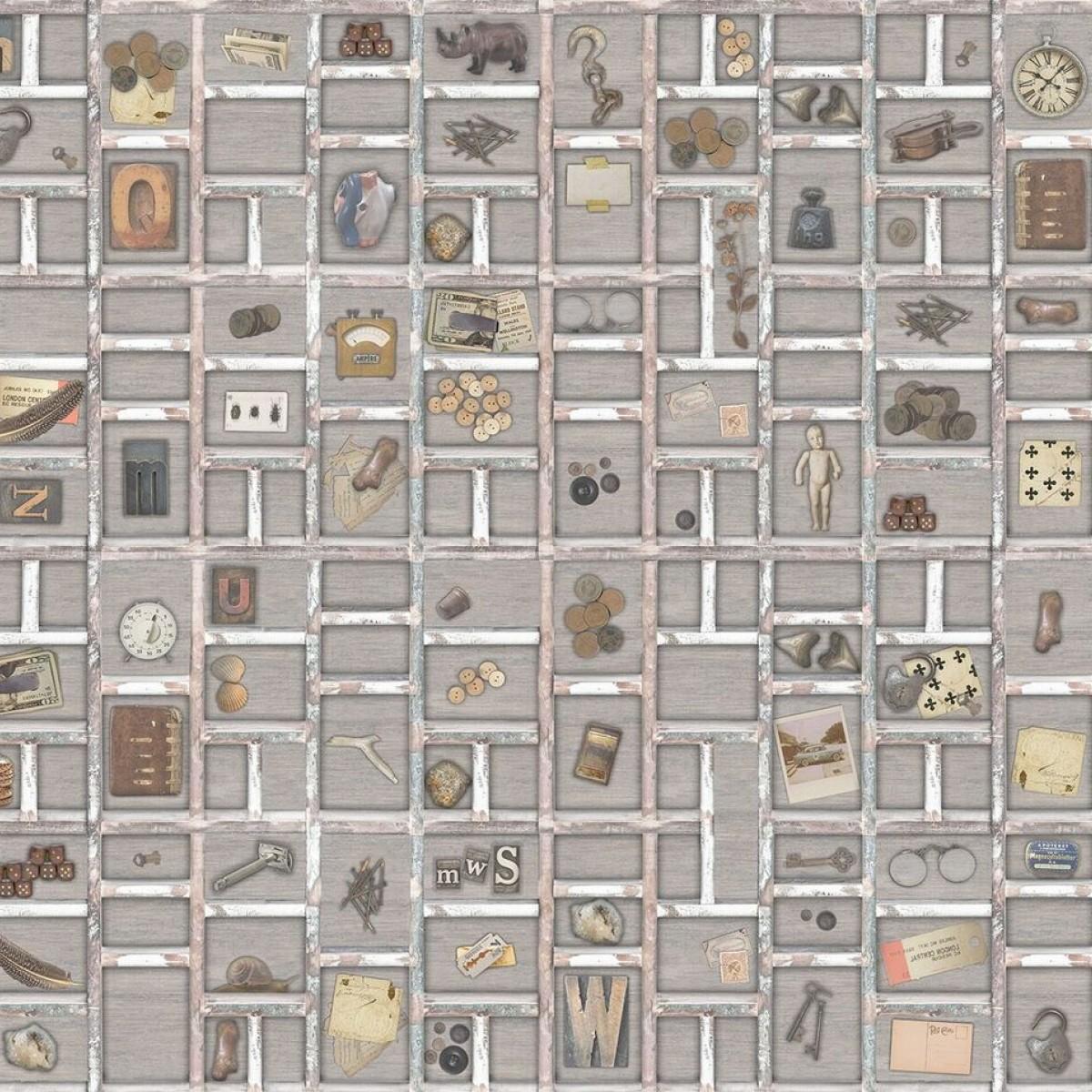 Fototapet The Memory Box, Light, personalizat, Rebel Walls