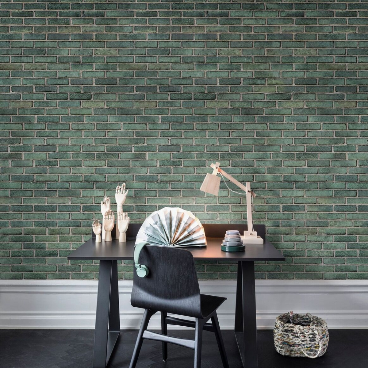 Fototapet Urban Emerald, personalizat, Rebel Walls