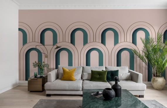 Fototape Arch Deco, personalizat, Rebel Walls