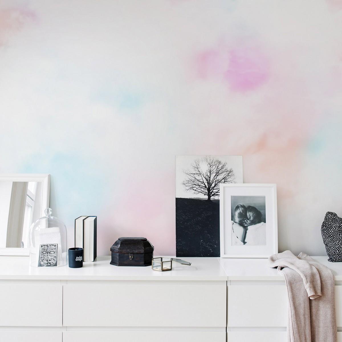 Fototapet Coral Clouds, personalizat, Rebel Walls