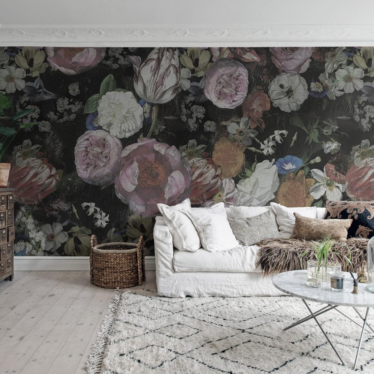Fototapet Blooming, personalizat, Rebel Walls