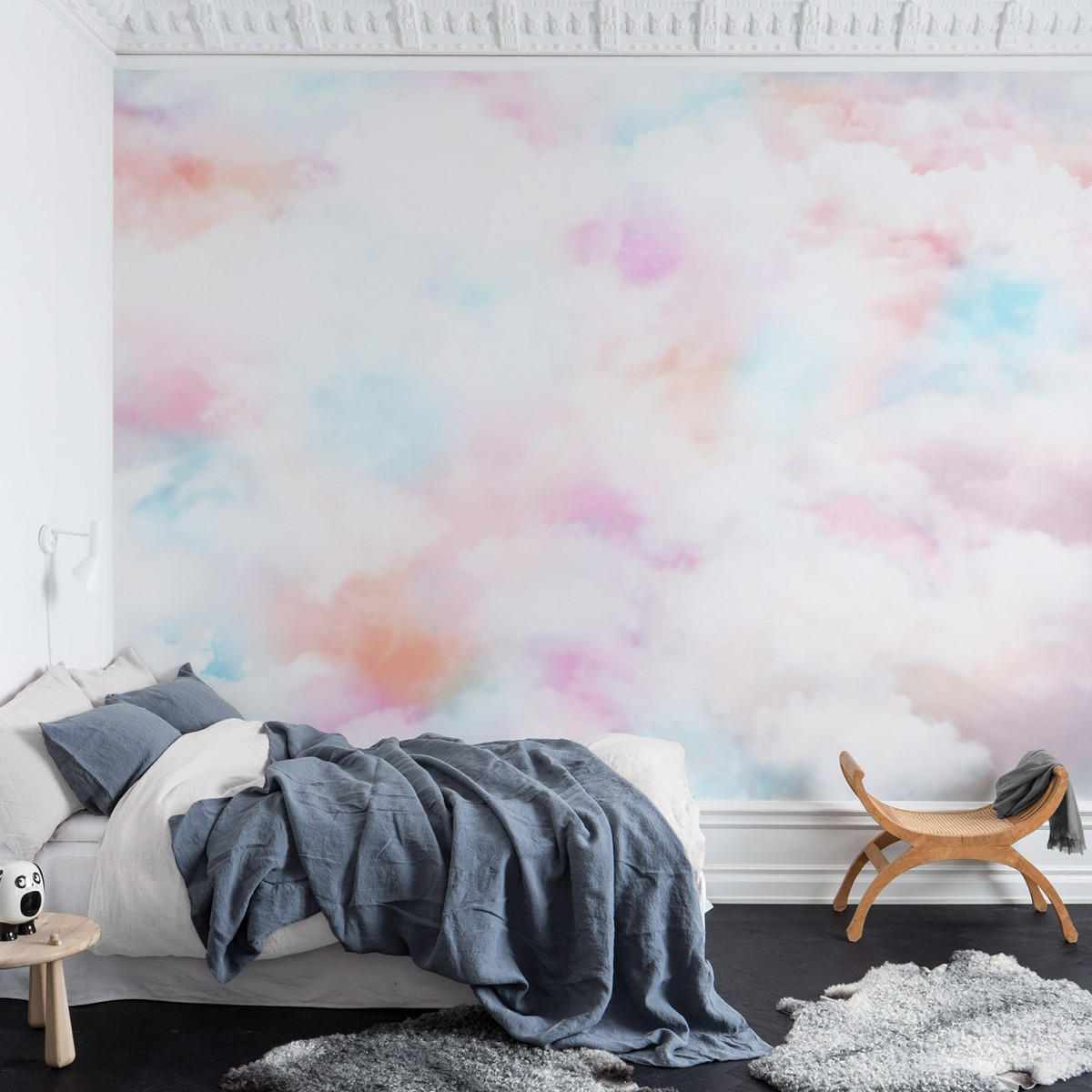 Fototapet Coral Clouds, personalizat, Rebel Walls