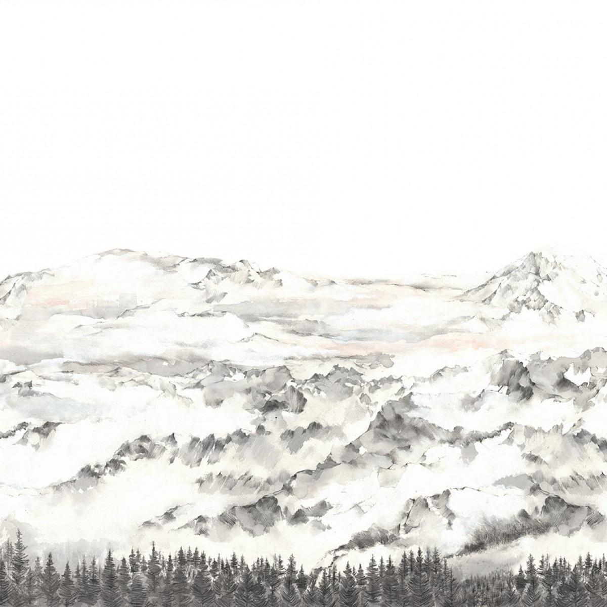 Fototapet Hope Mountains, personalizat, Rebel Walls