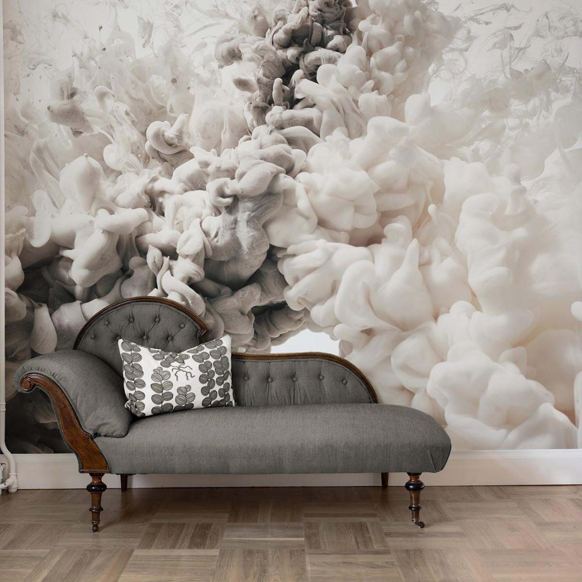 Fototapet Frozen Moment, Cream, personalizat, Rebel Walls