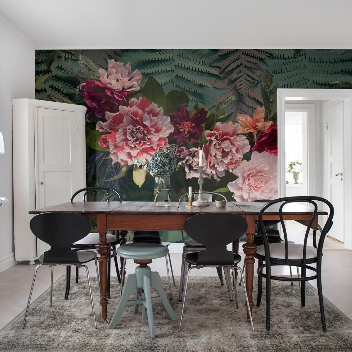 Foto tapet Unfading Flowers, Colossal, personalizat, Rebel Walls
