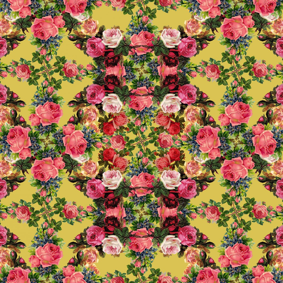 Foto tapet Floral Frida, personalizat, Rebel Walls