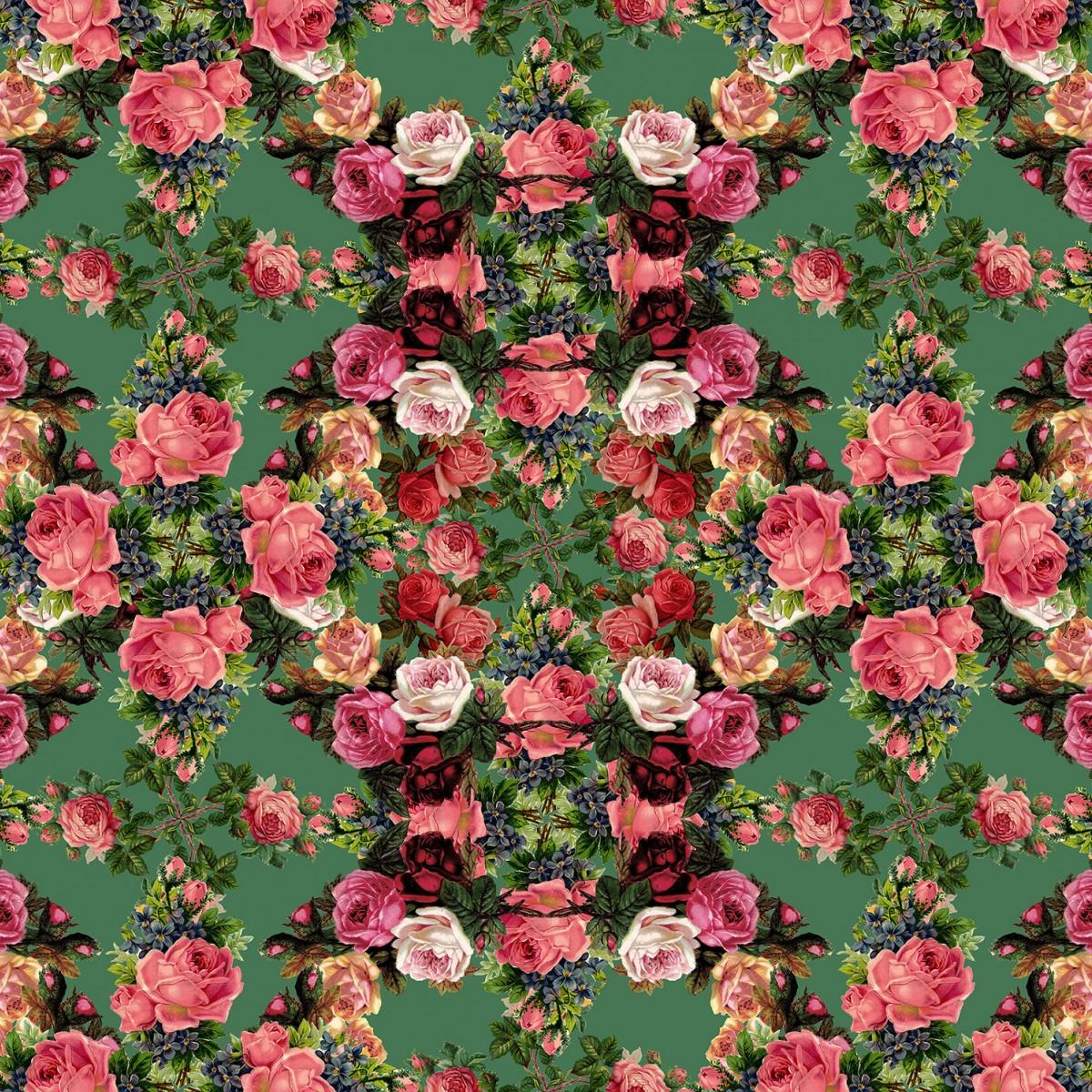 Foto tapet Floral Frida, Garden, personalizat, Rebel Walls