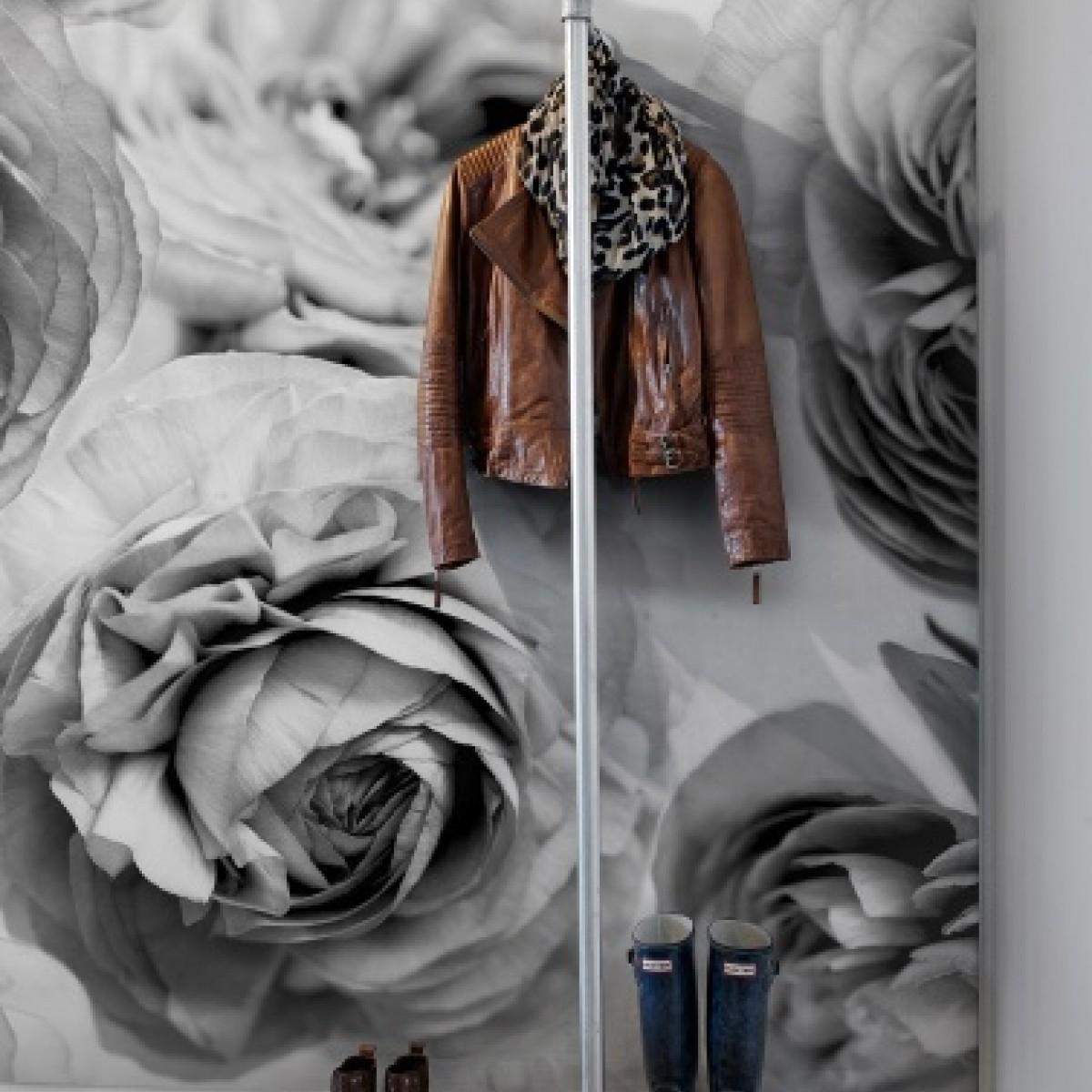 Fototapet Vant de Vara, b&w, personalizat, Rebel Walls