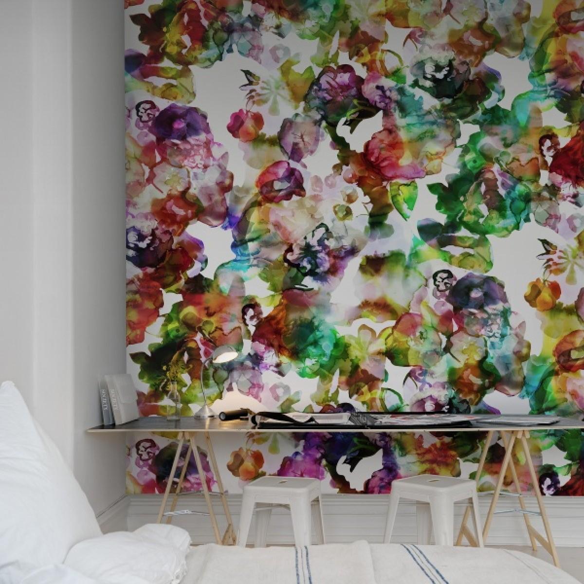 Fototapet Lac de Culori, curcubeu, personalizat, Rebel Walls