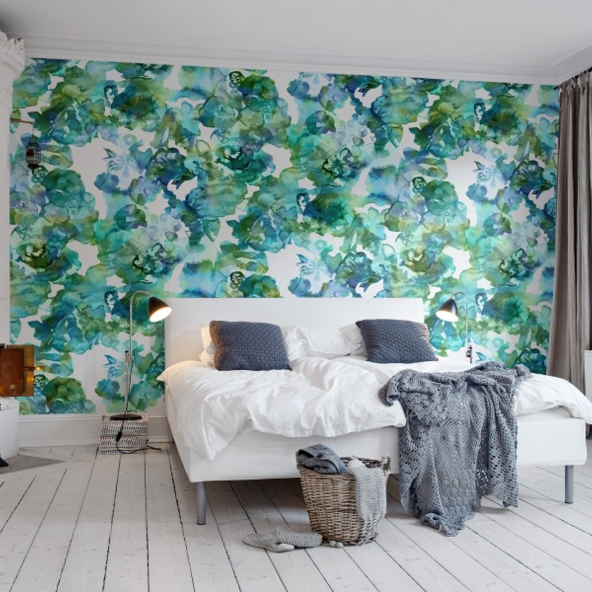 Fototapet Lac de Culori, turquoise, personalizat, Rebel Walls