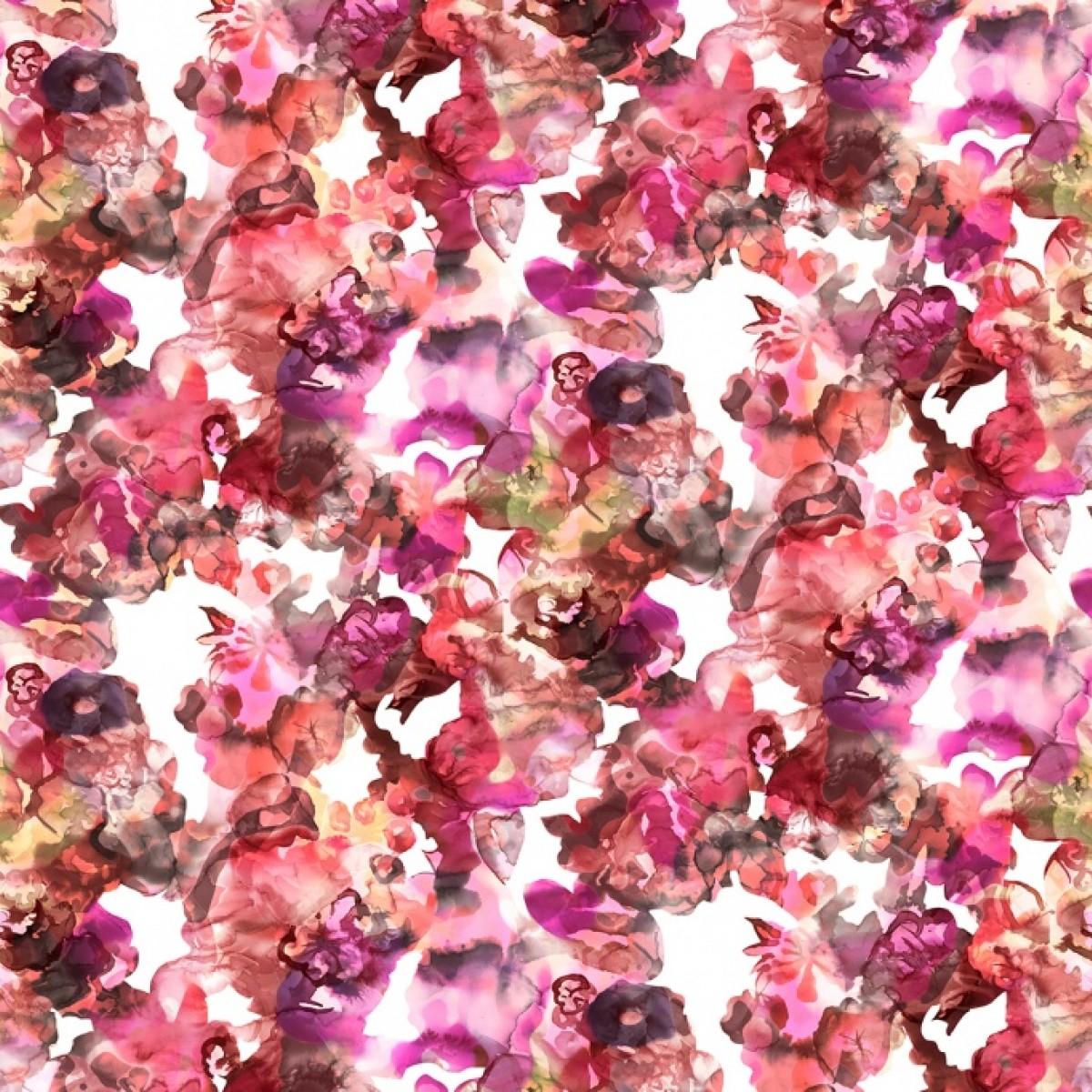 Fototapet Lac de Culori, rosu, personalizat, Rebel Walls