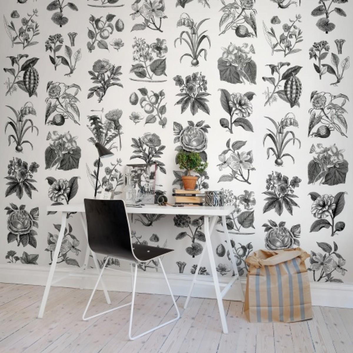 Fototapet Fructe si Flora, personalizat, Rebel Walls