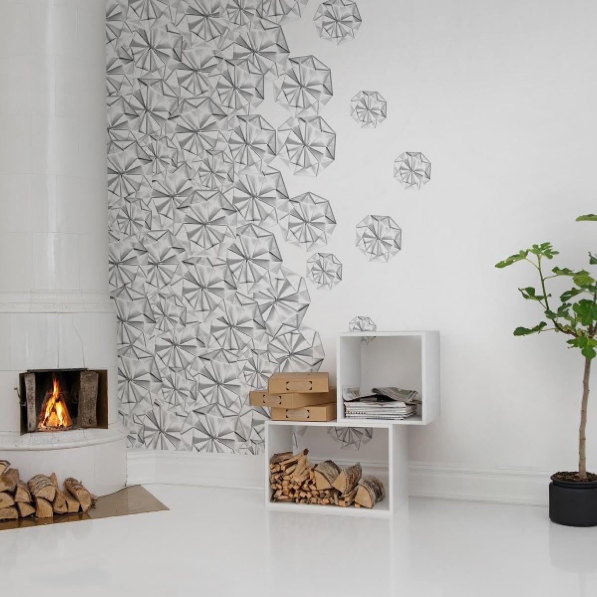 Fototapet Florigami, personalizat, Rebel Walls