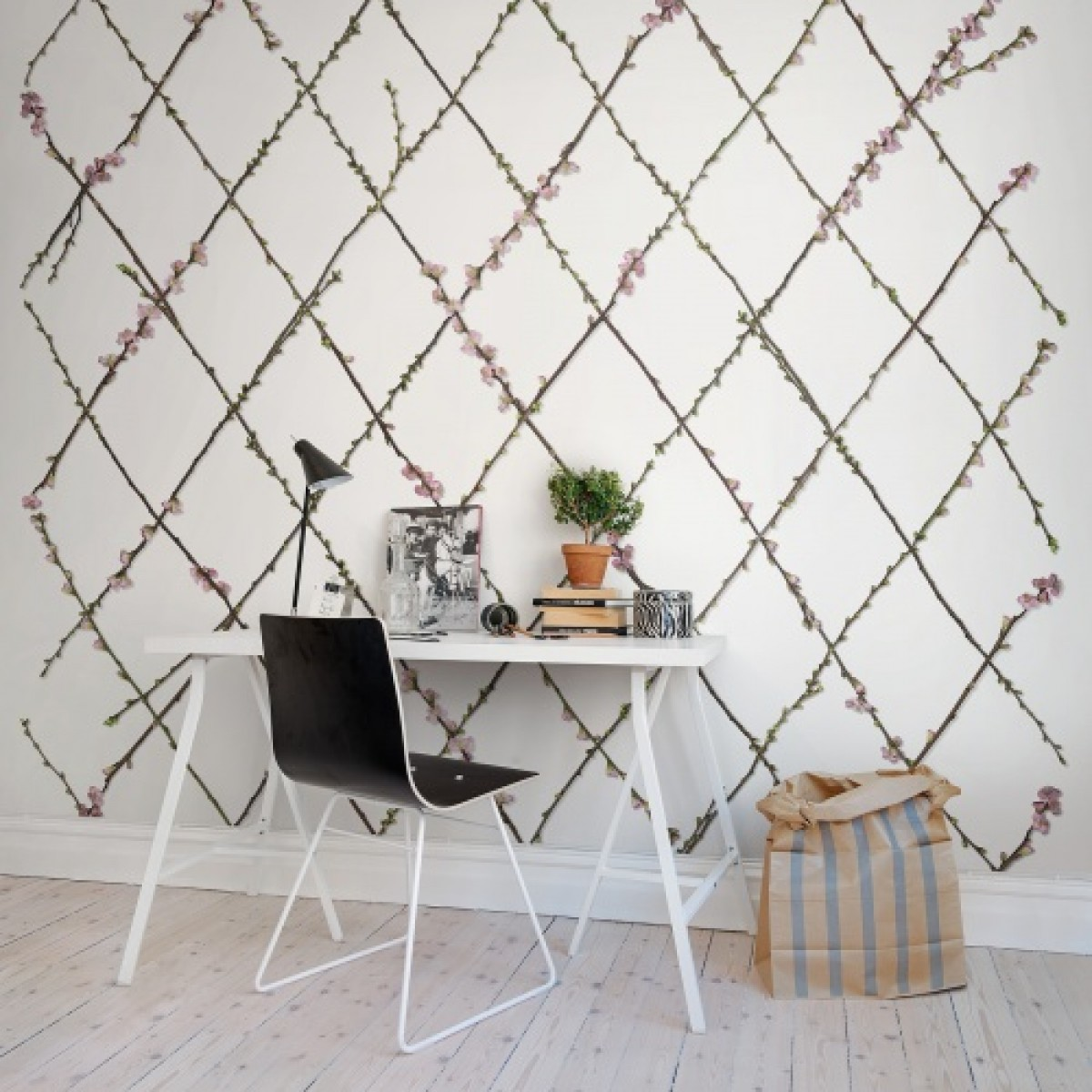 Fototapet Gard Verde, personalizat, Rebel Walls