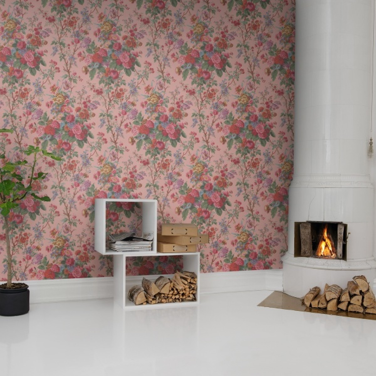 Fototapet Buchet de Flori, personalizat, Rebel Walls
