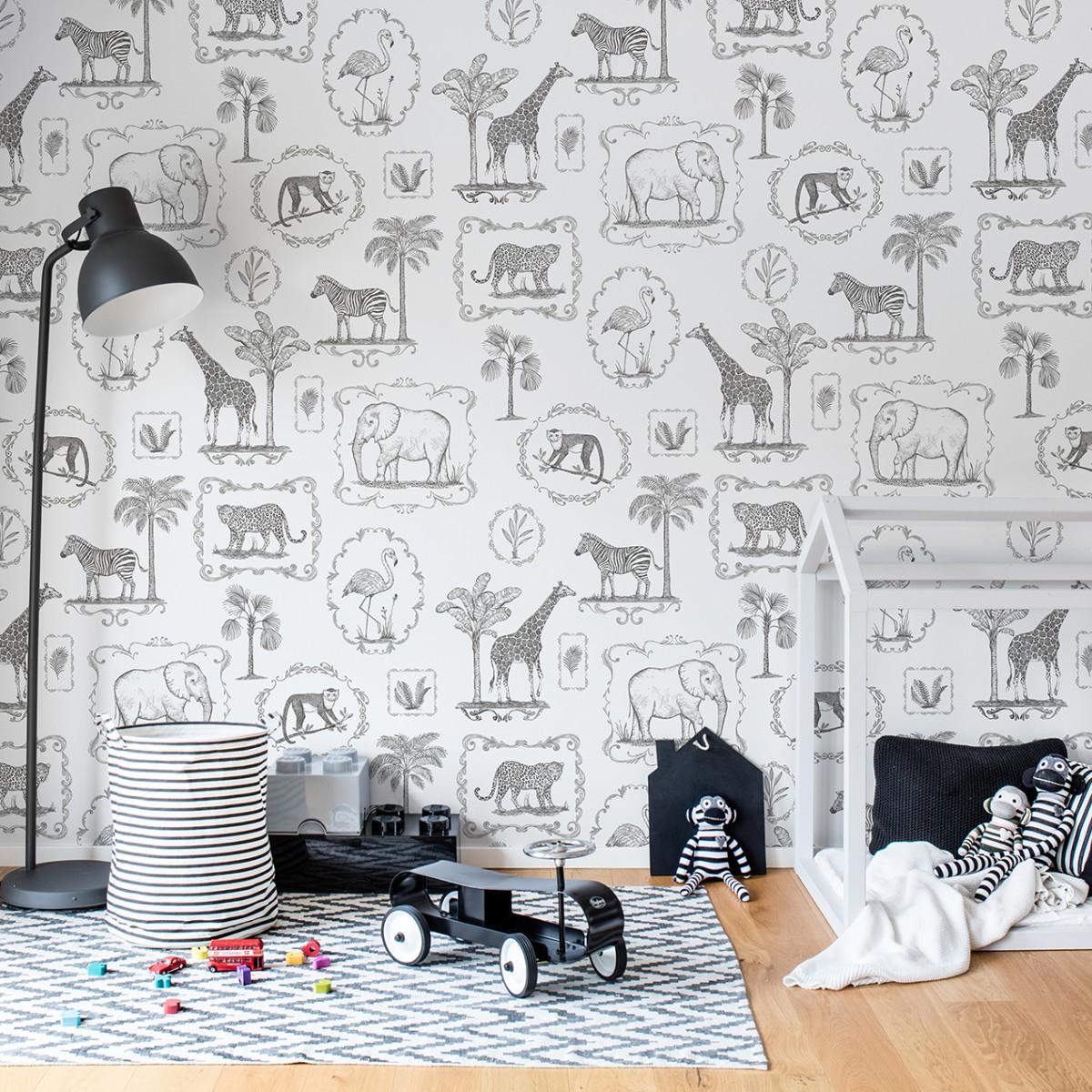 Fototape Animal Party, personalizat, Rebel Walls