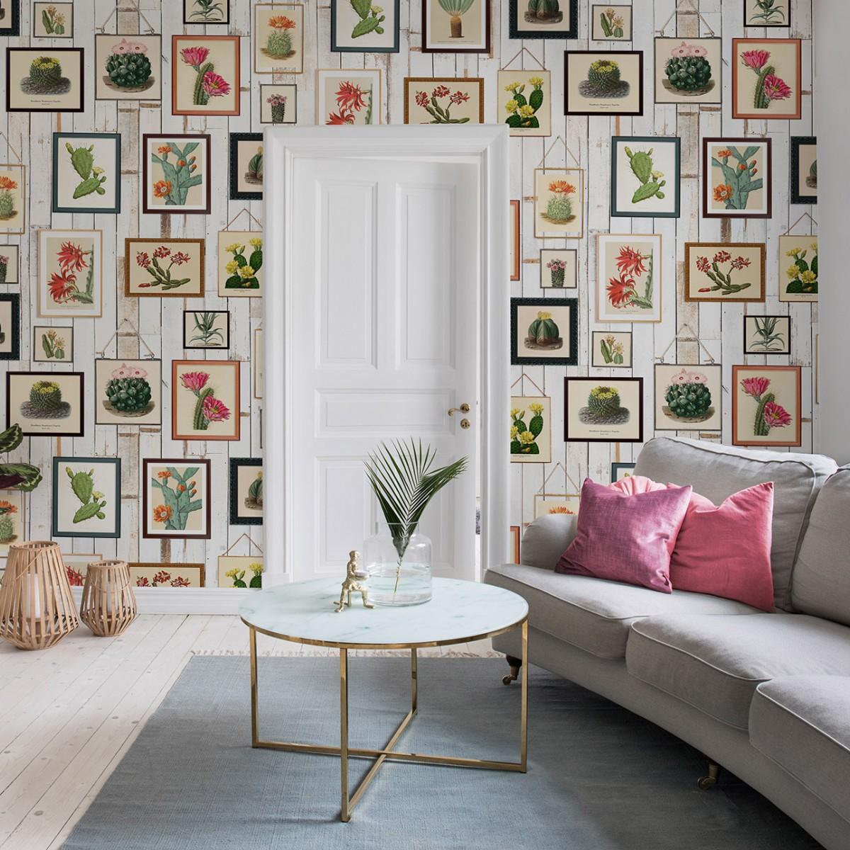Fototape Cactus Wall Art, personalizat, Rebel Walls