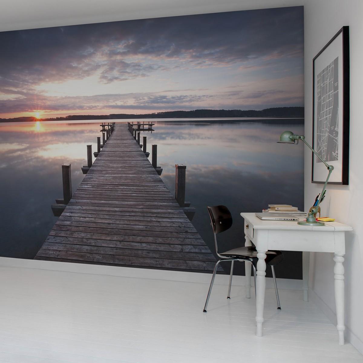 Fototapet Pier, personalizat, Rebel Walls