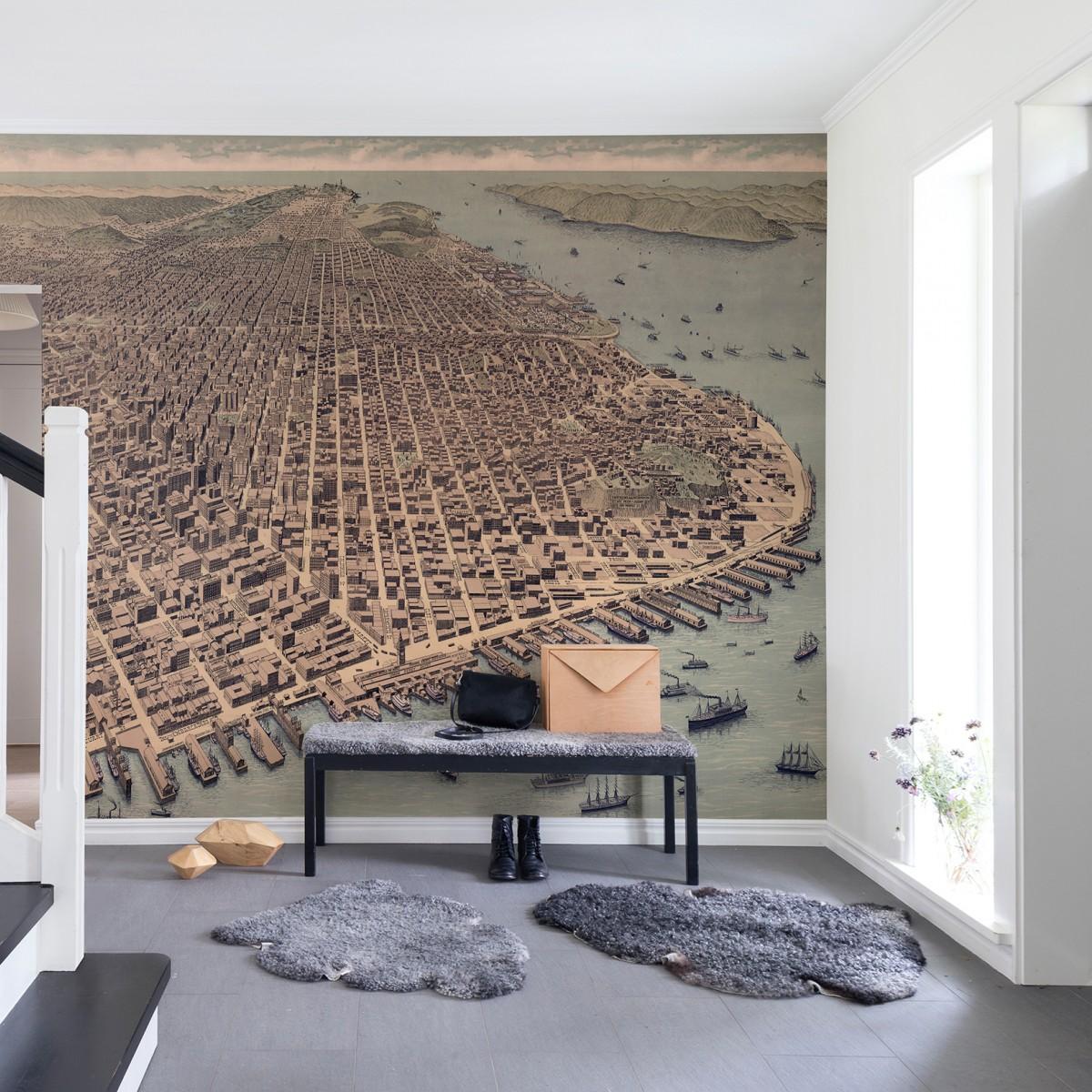 Fototapet A City rises, personalizat, Rebel Walls