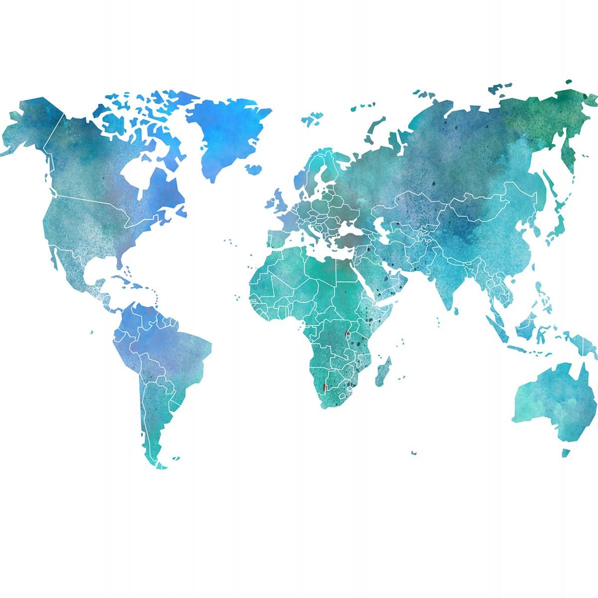 Fototapet Your Own World - Colour Clouds, personalizat, Rebel Walls