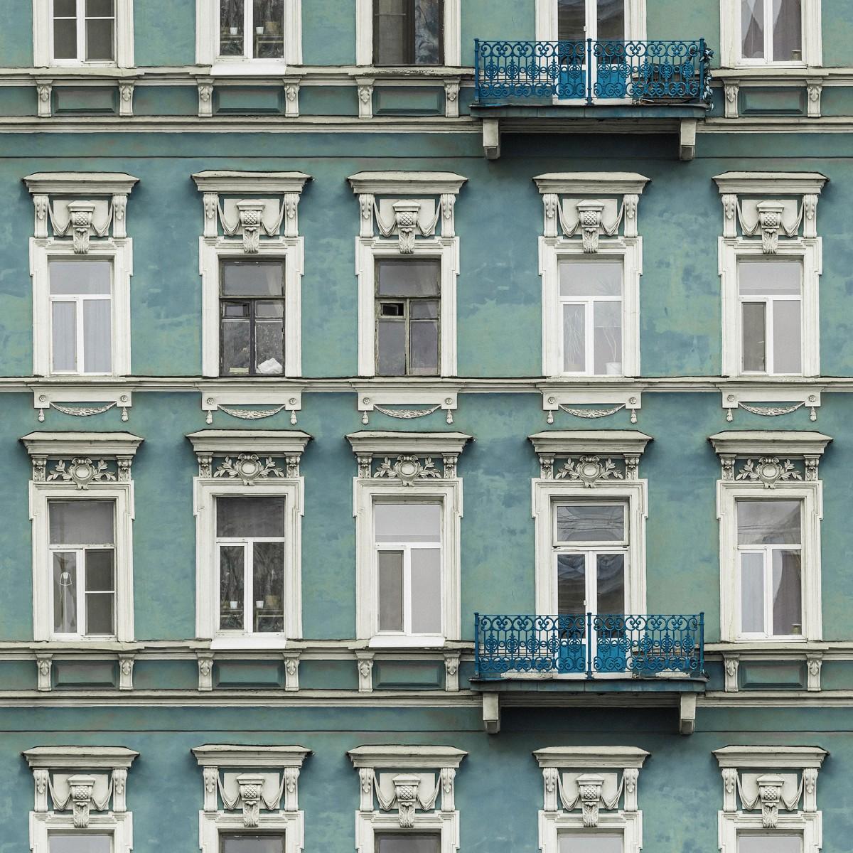 Fototape Strada Azul, personalizat, Rebel Walls