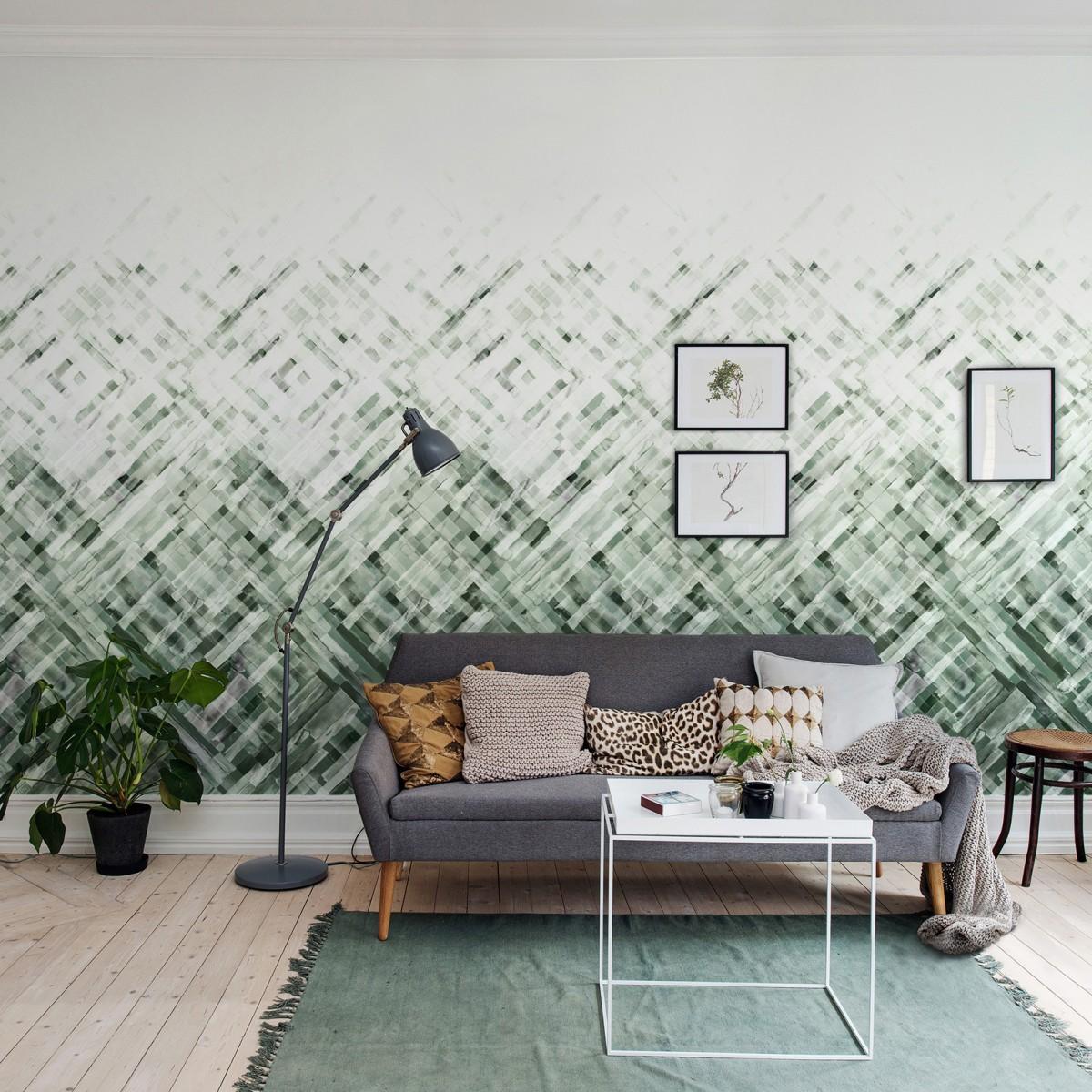 Fototapet Dream Weaver, Verde, personalizat, Rebel Walls